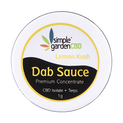 Buy CBD Dab Sauce online from Simple Garden CBD